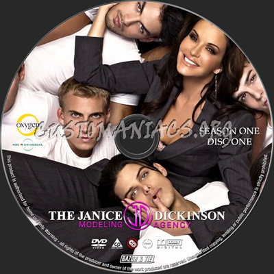 The Janice Dickinson Modeling Agency Season 1 dvd label