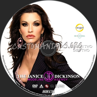 The Janice Dickinson Modeling Agency Season 2 dvd label