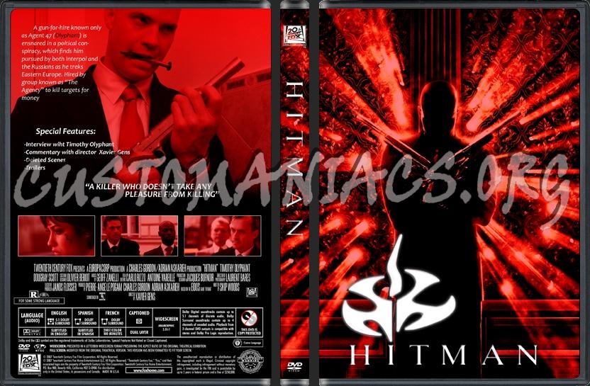 Hitman dvd cover