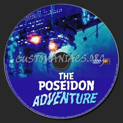 The Poseidon Adventure dvd label