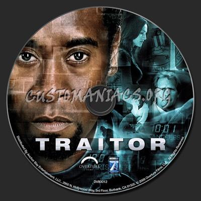 Traitor dvd label