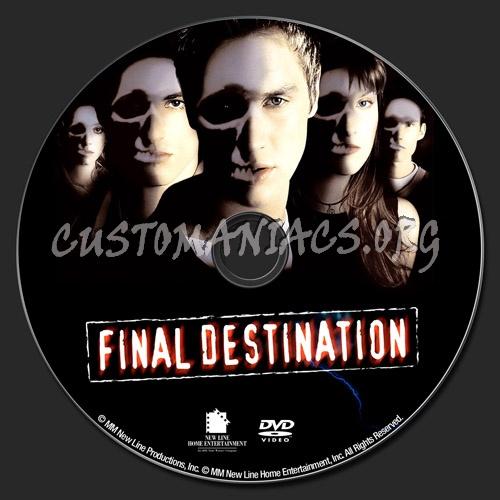 Final Destination dvd label