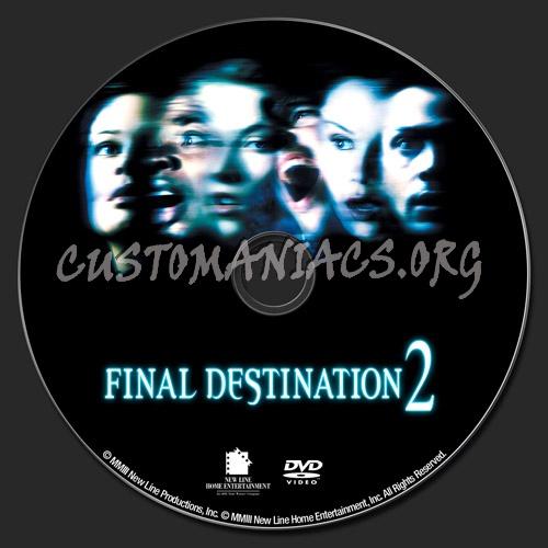 Final Destination 2 dvd label