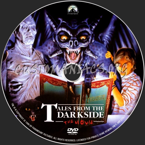 Tales From The Darkside dvd label