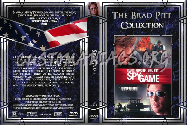 Spy Game dvd cover