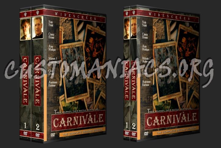 Carnivale dvd cover