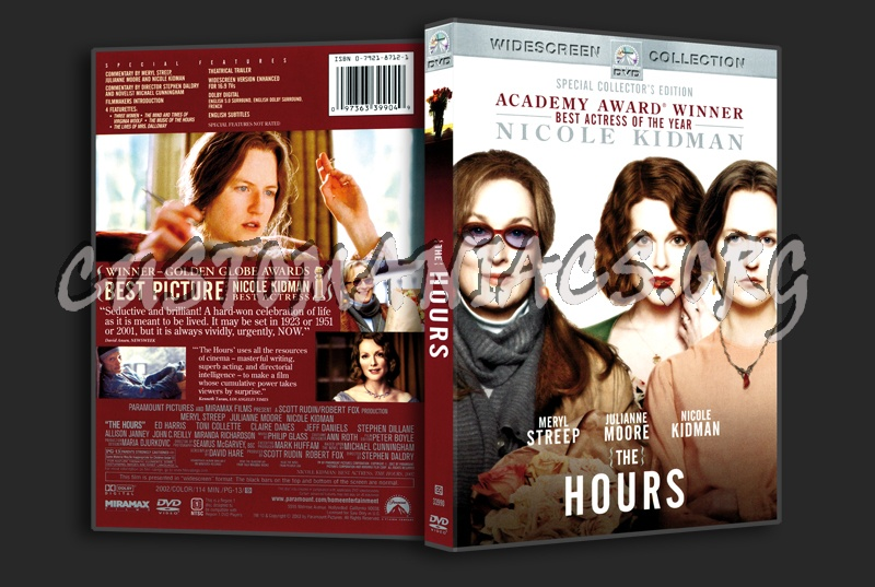 The Hours dvd cover