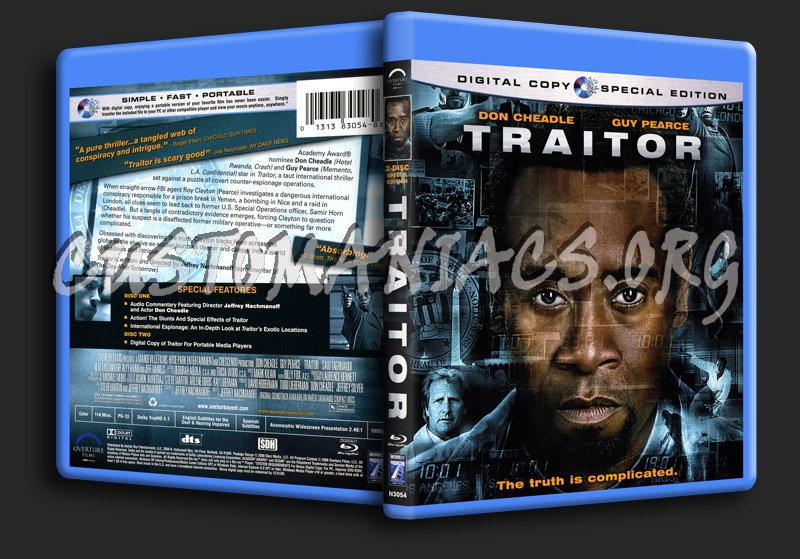 Traitor blu-ray cover
