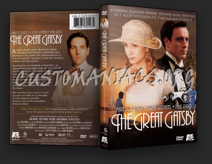 The Great Gatsby dvd cover