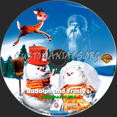 Rudolph And Frostys Christmas In July Dvd.Rudolph And Frosty S Christmas In July Dvd Label Dvd