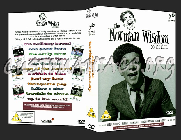 The Norman Wisdom Collection dvd cover