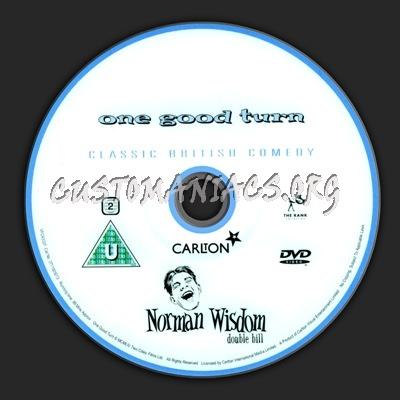 Norman Wisdom dvd label