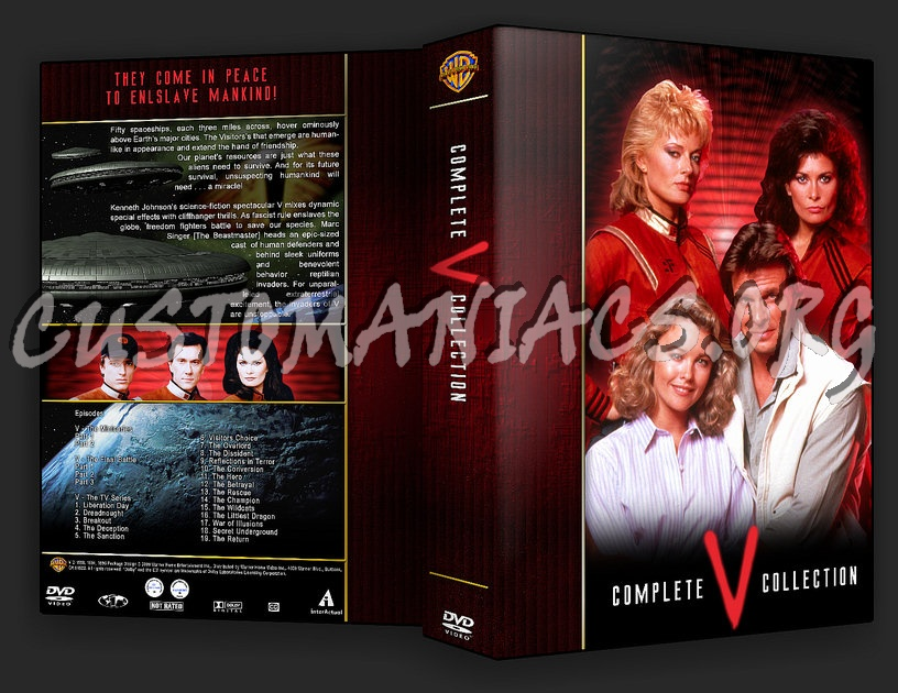 V (1983) - Complete TV Collection dvd cover