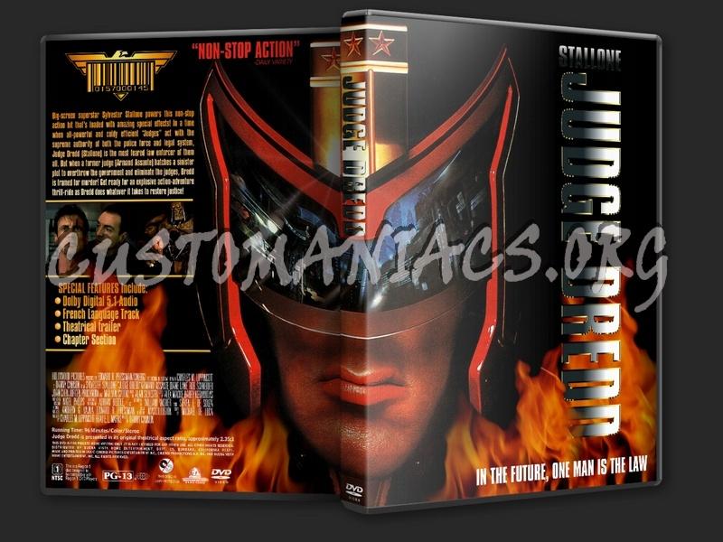 Judge Dredd dvd cover