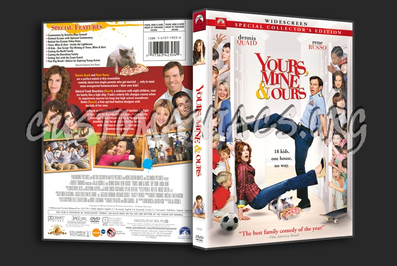 Yours, Mine and Ours dvd cover