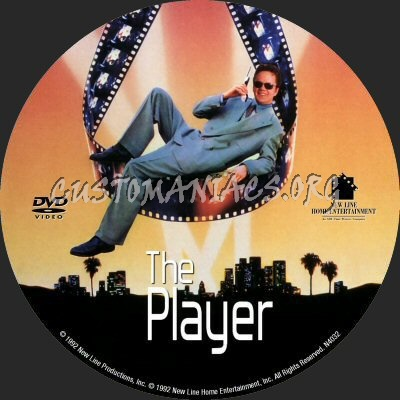 The Player dvd label