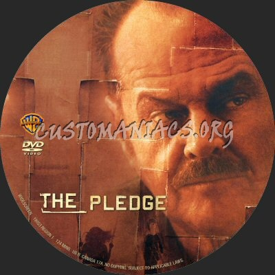 The Pledge dvd label
