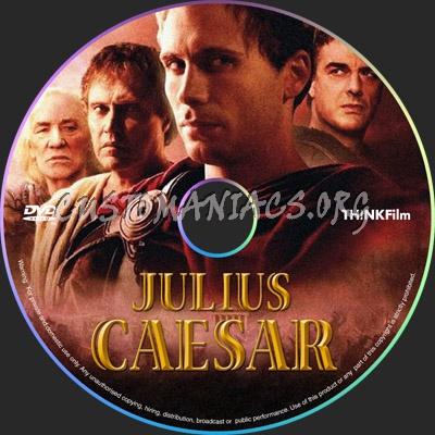 Julius Caesar dvd label