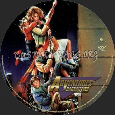 Adventures In Babysitting Dvd Label Dvd Covers Amp Labels