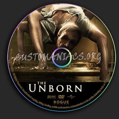 The Unborn dvd label