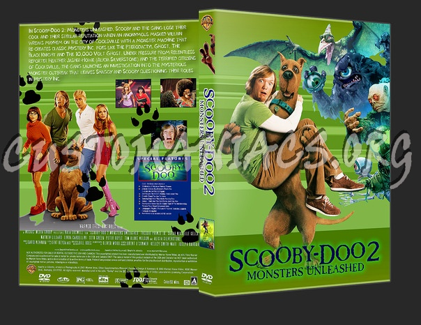Scooby Doo 2 Monsters Unleashed Dvd Cover Dvd Covers Labels By Customaniacs Id 14646 Free Download Highres Dvd Cover