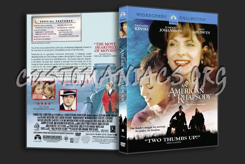 An American Rhapsody dvd cover