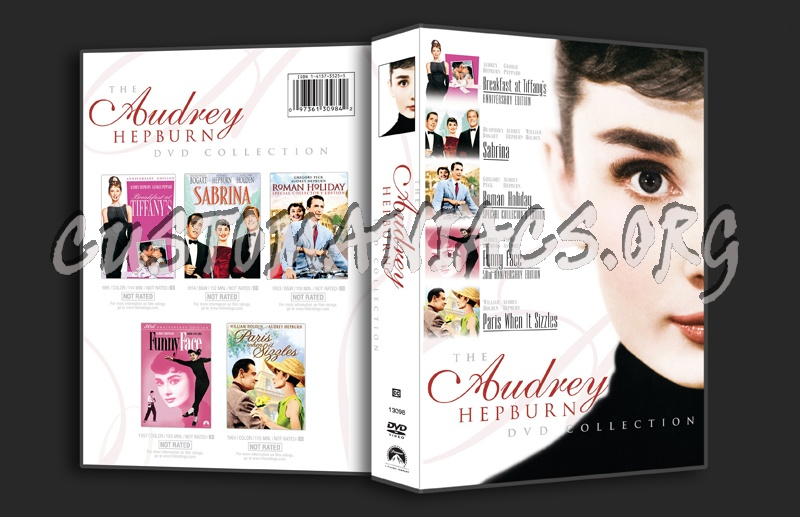The Audrey Hepburn Collection dvd cover