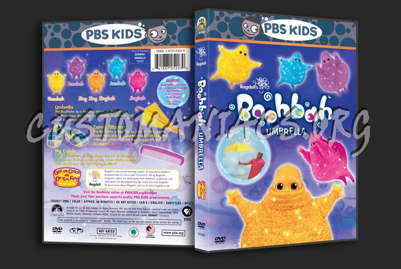 Boohbah Umbrella dvd cover