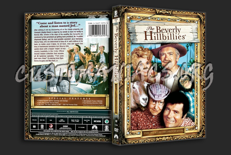 The Beverly Hillbillies Season 2 dvd cover - DVD Covers ... Beverly Hills Cop 2 Dvd