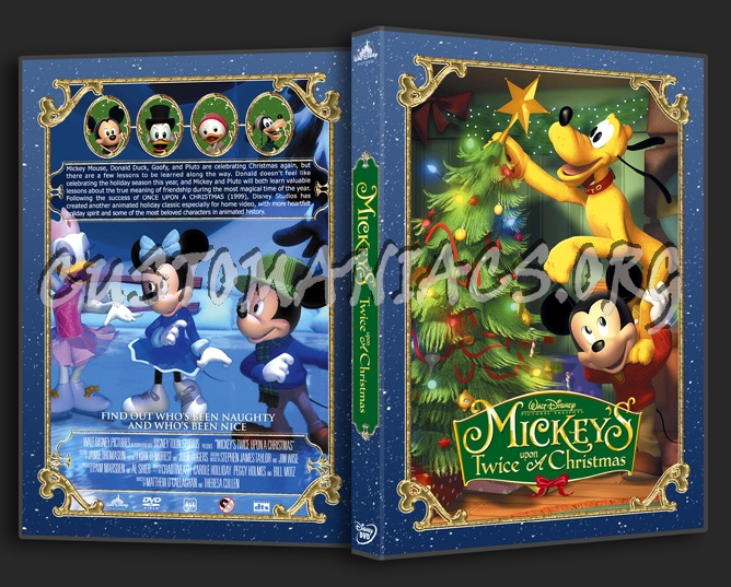 Mickey Mouse Twice Upon A Christmas Dvd.Mickey S Twice Upon A Christmas Dvd Cover Dvd Covers