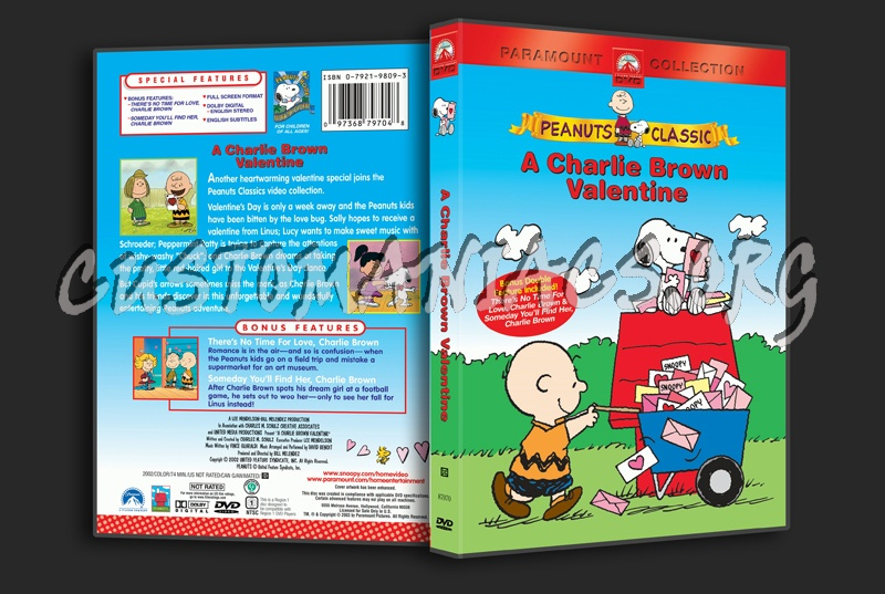 a charlie brown valentine dvd cover - Charlie Brown Valentine Video