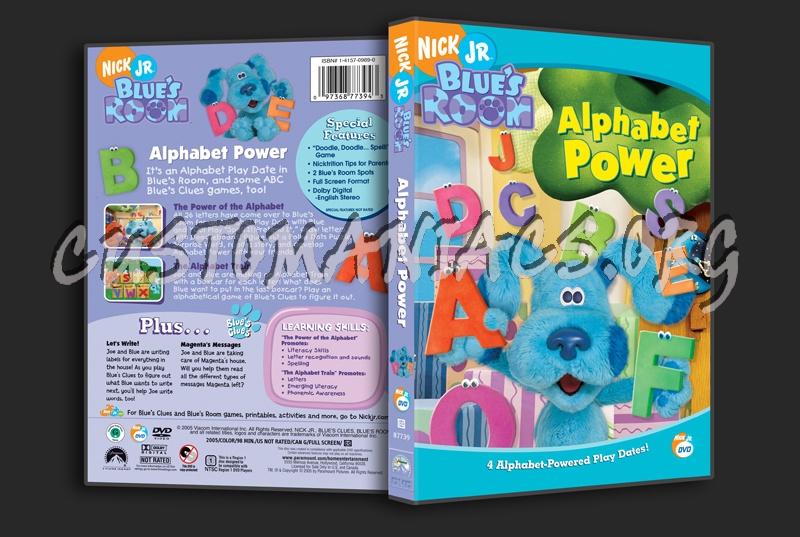Blue S Room Alphabet Power Dvd Cover Dvd Covers