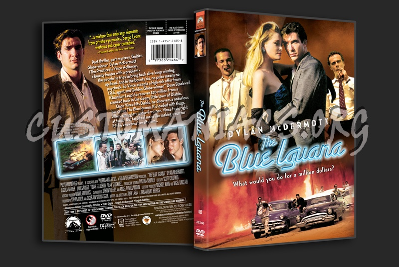 The Blue Iguana dvd cover