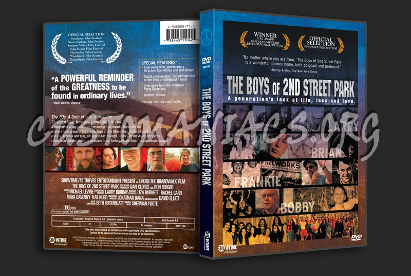 The Boys of 2nd Street Park dvd cover