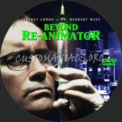 Beyond Re-Animator dvd label