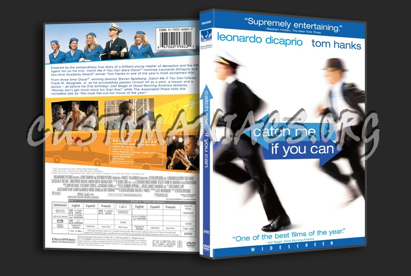 Catch Me If You Can dvd cover