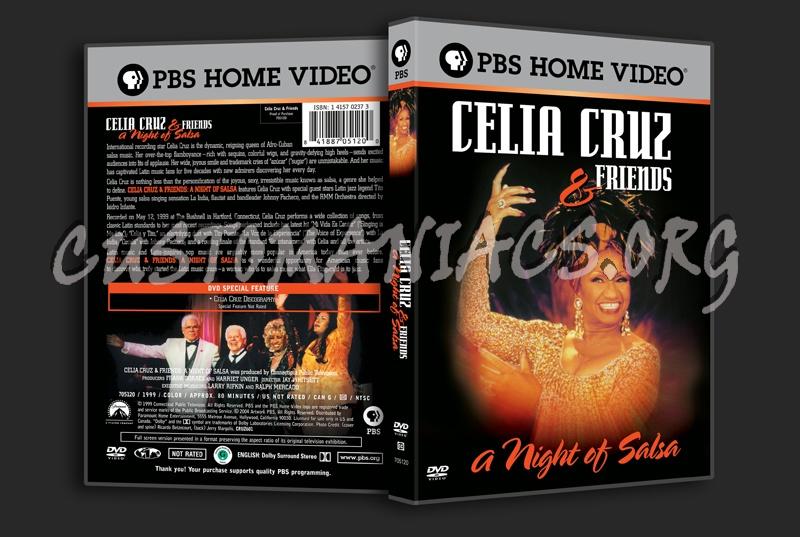 Cella Cruz & Friends A Night of Salsa dvd cover