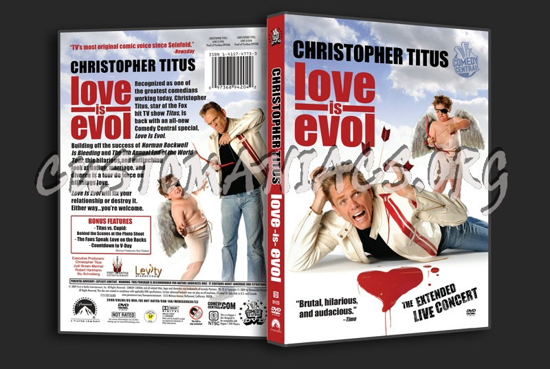 Christopher Titus Love Is Evol Dvd Cover