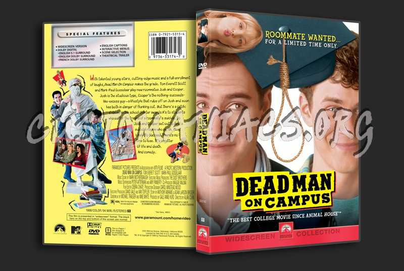 Dead Man on Campus dvd cover