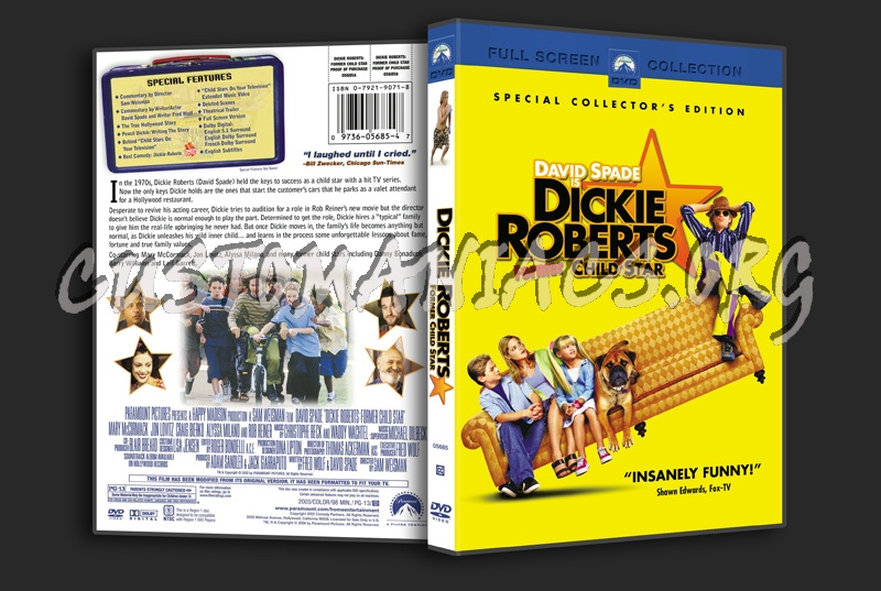 Dicky Roberts Former Child Star dvd cover