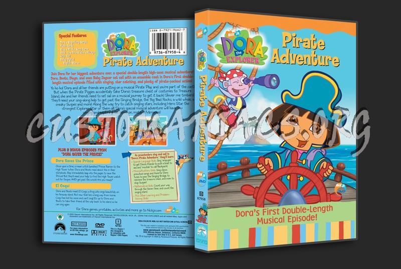 Dora the Explorer: Pirate Adventure dvd cover