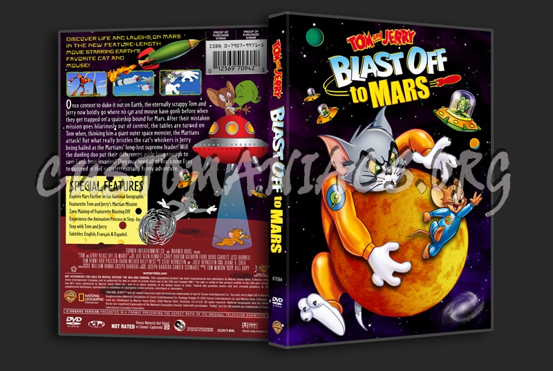 tom and jerry blast off to mars vhs - photo #28