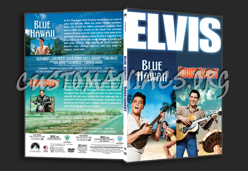 DVD Covers & Labels by Customaniacs - View Single Post - Elvis: Blue Hawaii / Roustabout
