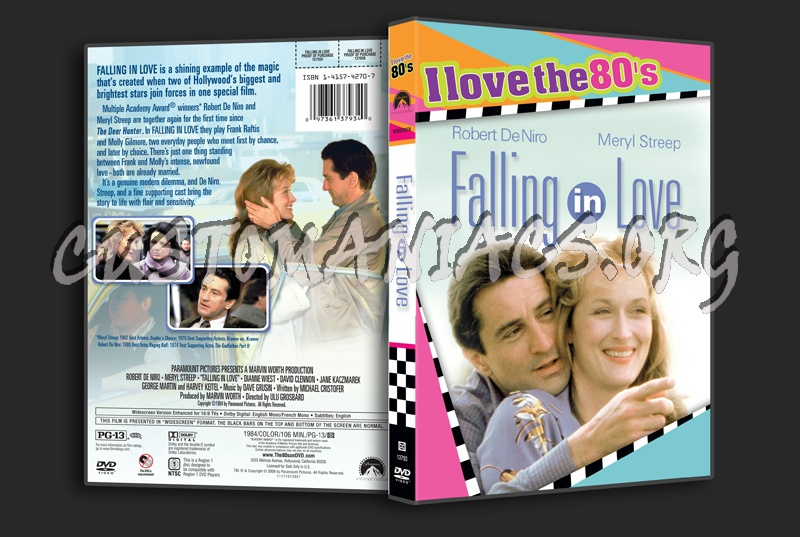 Falling in Love dvd cover