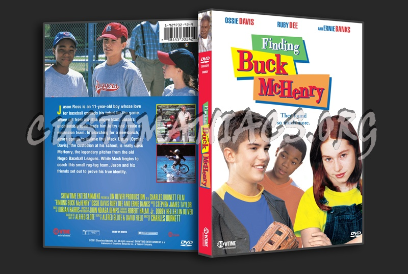 Finding Buck McHenry dvd cover