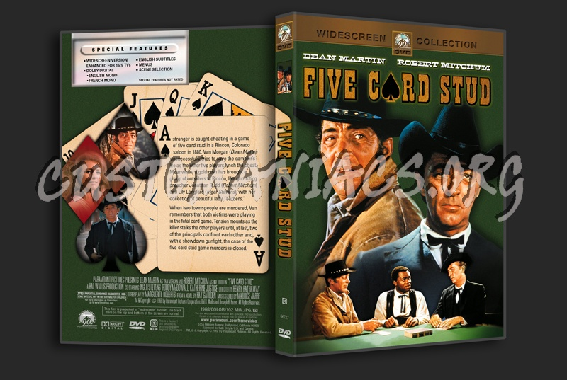 Five Card Stud dvd cover