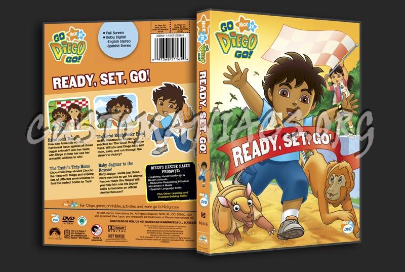 Go Diego Go!: Ready, Set, Go! dvd cover