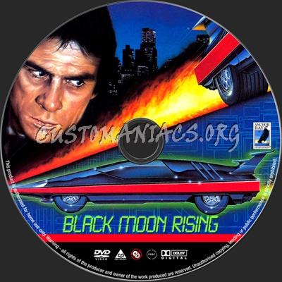Black Moon Rising dvd label