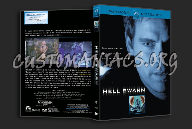 Hell Swarm dvd cover