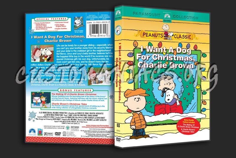 I Want A Dog For Christmas Charlie Brown.I Want A Dog For Christmas Charlie Brown Dvd Cover Dvd